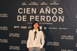 La actriz Marian Álvarez