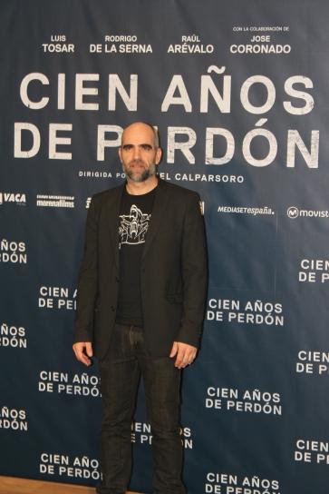 Uno de los protagonistas del filme, Luis Tosar
